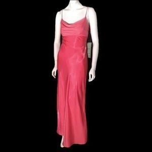 Morgan & Co. Drape Neck Gown 3/4